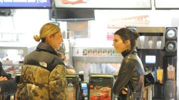 Kendall Jenner, en el McDonald's tras los British Fashion Awards