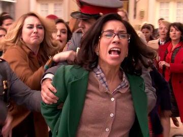 Manolita, una heroína arrestada en su lucha por la igualdad