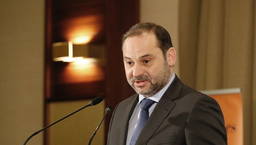 El ministro de Fomento y secretario de Organización del PSOE, José Luis Ábalos