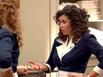 """Amelia, con pudor, le confiesa a Natalia: """"Soy lesbiana"""""""