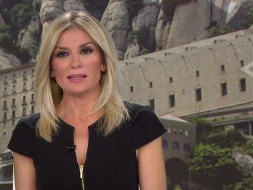 Sandra Golpe dirige y presenta Antena 3 Noticias 1