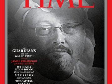 Portada de la revista Time con Jamal Khashoggi
