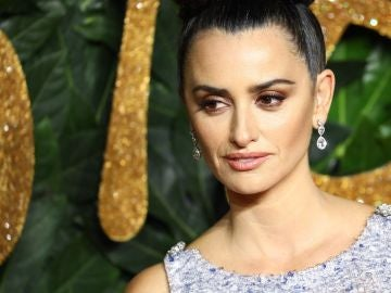 Penélope Cruz durante los British Fashion Awards 2018