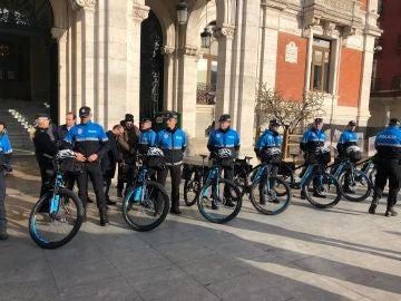 policia local valladolid bici