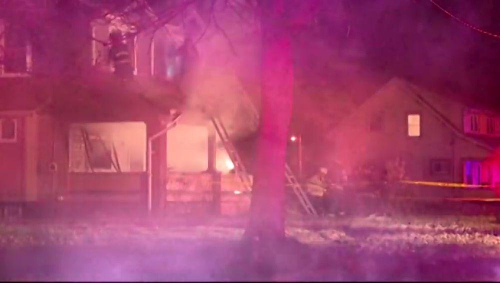 Mueren cinco niños en el incendio de una vivienda en Ohio