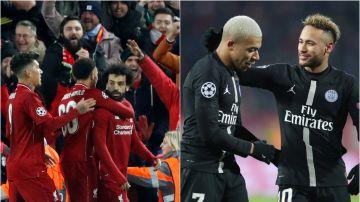Liverpool y PSG, los cocos para los españoles en octavos