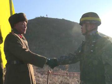 Corea del Norte y Corea del Sur eliminan los puestos de control en la zona desmilitarizada de la frontera