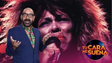La brutal caracterización de José Corbacho para ser Tina Turner en 'Tu cara me suena'