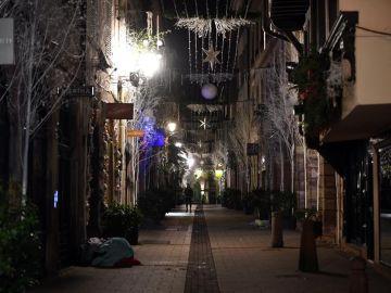 Vista de una calle de Estrasburgo
