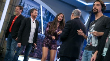 El teléfono escacharrado de Carlos Latre protagoniza el momento más divertido de la noche con Cristina Pedroche en 'El Hormiguero 3.0'