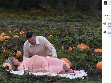 Sesión de fotos de maternidad de Todd y Nicole Cameron