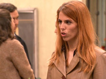 Sara enfrenta a Amelia con Luisita