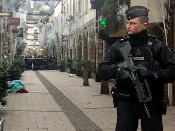 La ciudad de Estrasburgo ha despertado con aparente calma
