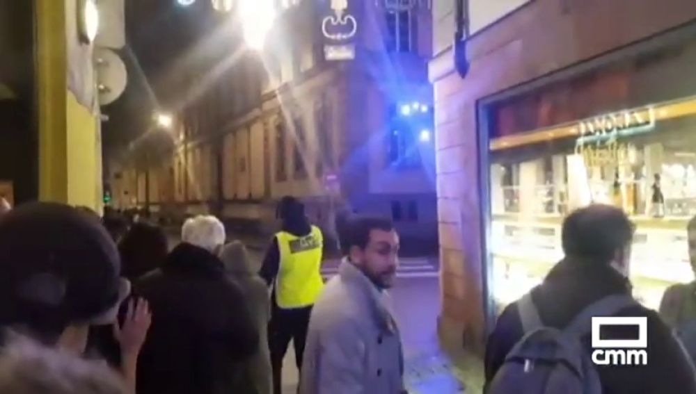 Así se vivió en las calles de Estrasburgo los instantes posteriores al atentado en un mercadillo navideño