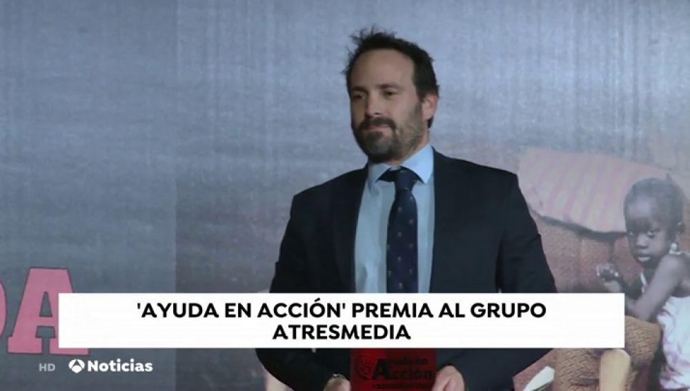 Atresmedia recibe el galardón 'Somos Ayuda' por su apuesta en programas de contenido social