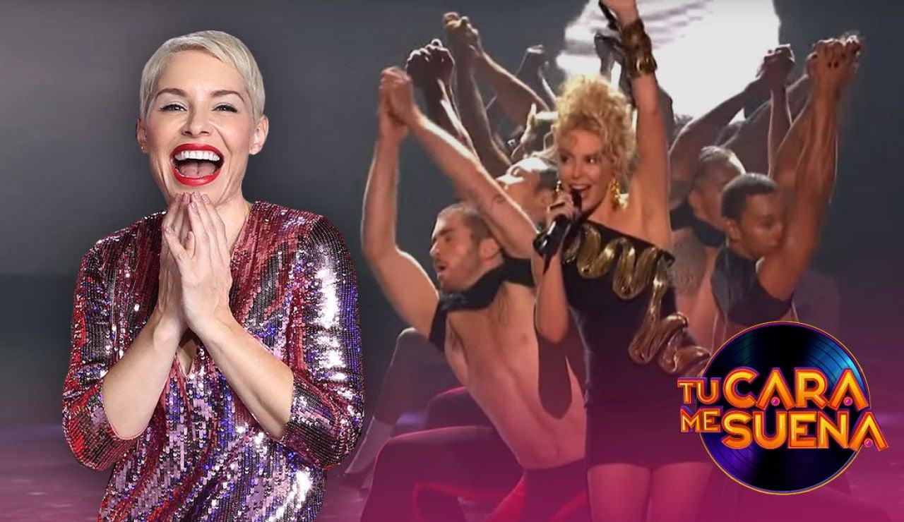 La transformación de Soraya para ser Kylie Minogue en 'Tu cara me suena'