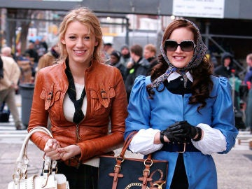 Serena van der Woodsen y Blair Waldorf en 'Gossip Girl'