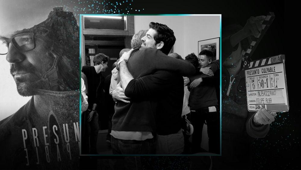 Emoción, abrazos y felicitaciones en la última secuencia grabada de 'Presunto Culpable'
