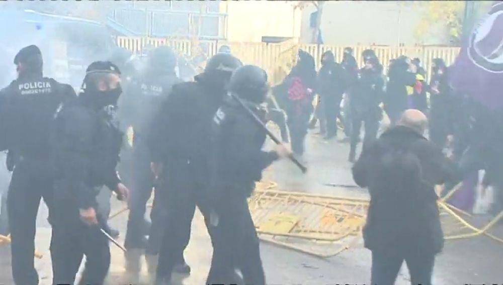 Los sindicatos de mossos dicen que no pueden garantizar la seguridad