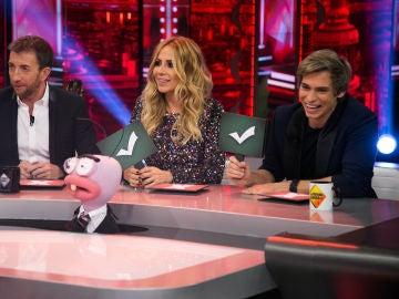 Carlos Baute y Marta Sánchez se convierten en el jurado de 'La Voz al Revés' con Trancas y Barrancas