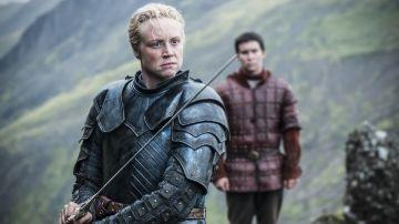 Gwendoline Christie como Brienne de Tarth en 'Juego de Tronos'