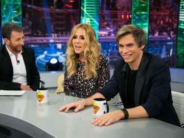 Marta Sánchez y Carlos Baute confiesan en 'El Hormiguero 3.0' quién llamo a quien para volver a juntarse en un nuevo single