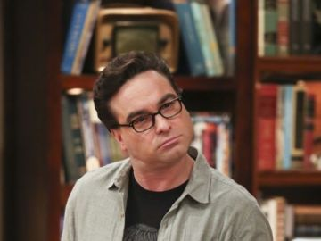 Johnny Galecki como Leonard en 'The Big Bang Theory'