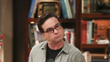 Johnny Galecki como Leonard en 'The Big Bang Theory'