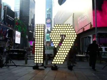 Comienza la cuenta atrás para que la emblemática plaza neoyorkina dé la bienvenida al nuevo año