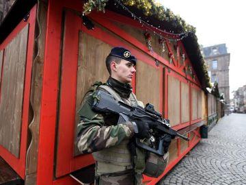 Un soldado de la Operación Centinela