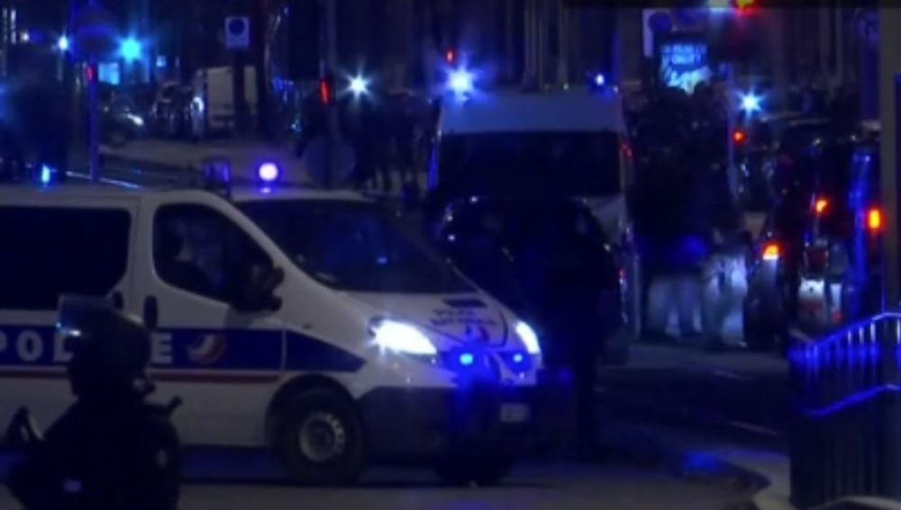 Operativo policial en Estrasburgo