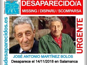Anciano desaparecido