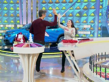 """Jorge felicita a la concursante Silvia: """"Las tiradas son perfectas, muy buen panel"""""""