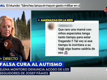 """Los seguidores ultras del curandero Josep Pámies a una madre de un niño autista: """"Lo mejor que te puede pasar es lo mismo que le pasó a la chica de La Manada"""""""