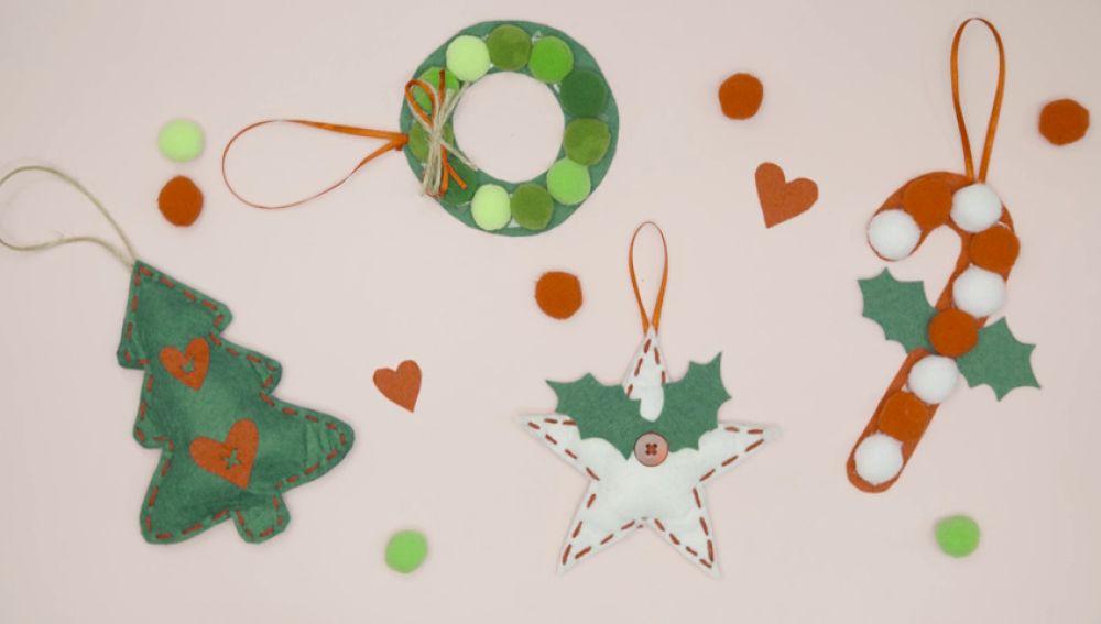 Ideas para hacer tus propios adornos navideños