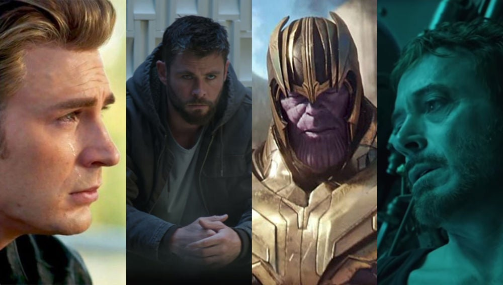 Personajes de 'Vengadores: Endgame'