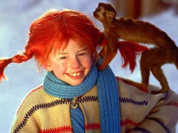 Inger Nilsson como Pippi Calzaslargas