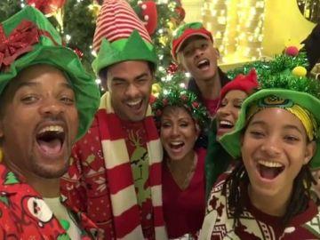 Will Smith disfruta de la Navidad junto a su familia