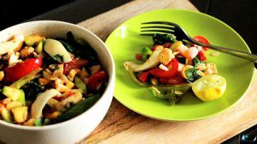 Apostar por los alimentos frescos es un buen propósito de Año Nuevo.