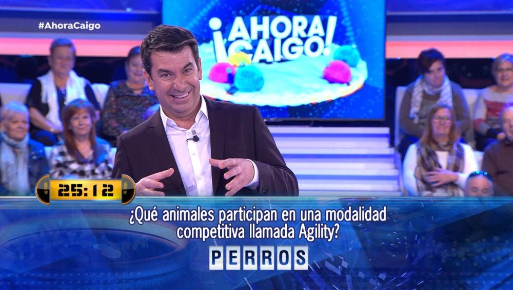Arturo Valls y su chiste de 'huevos'
