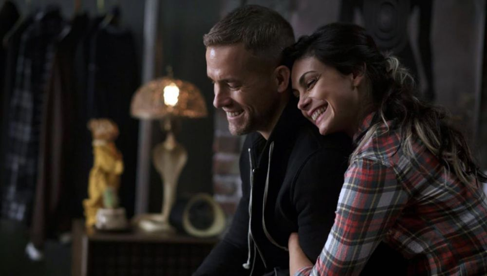 Ryan Reynolds y Morena Baccarin en 'Deadpool 2'