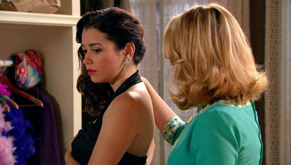 Luisita, desconcertada ante lo que siente por Amelia