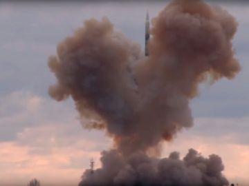 Las maniobras de un sistema estratégico intercontinental Avangard en territorio ruso.