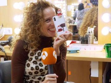 María Castro saca su lado más navideño y pide un deseo al 2019