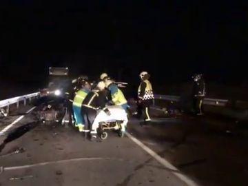 Un fallecido en una colisión frontal en San Fernando de Henares