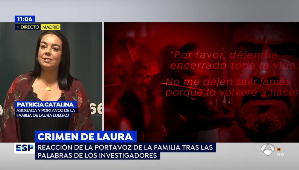 """La abogada de la familia de Laura Luelmo, sobre Bernardo Montoya: """"El perdón y a no sirve, ojalá le sirva a la familia"""""""