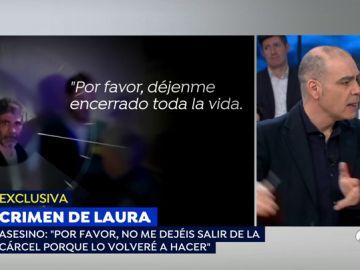 """La estremecedora declaración del asesino confeso de Laura Luelmo al  juez: """"No me dejen salir más porque lo volveré a hacer"""""""