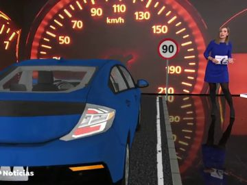 Se reduce el máximo de velocidad a 90km/h en las carreteras secundarias