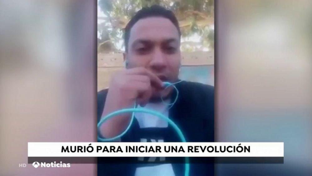 Revuelta social en Túnez tras la inmolación de un joven periodista