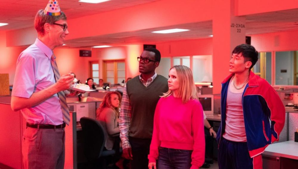 Stephen Merchant en 'The Good Place'